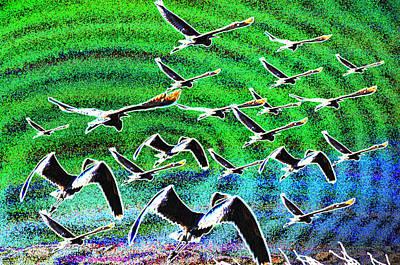 Flight Into Oblivion Art Print