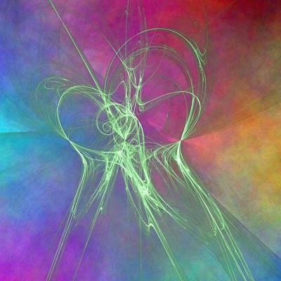 Digital Art - Flight by Nicole Grattan
