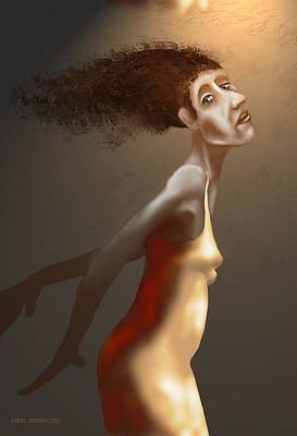 Female Digital Art - Flight No 2 by Kerry Beverly