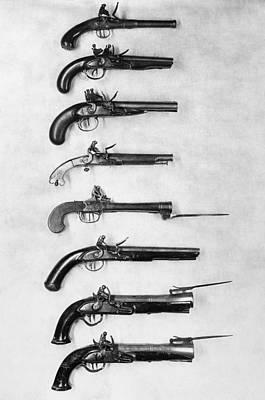 Photograph - Flintlock Pistols by Granger