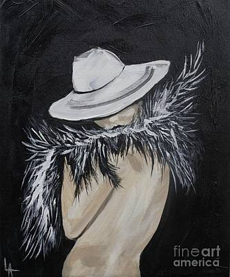 Painting - Flirt by Leslie Allen