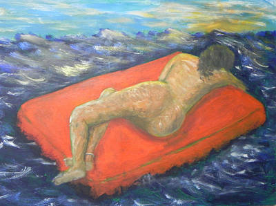 Painting - Float To Freedom by Ernie Goldberg