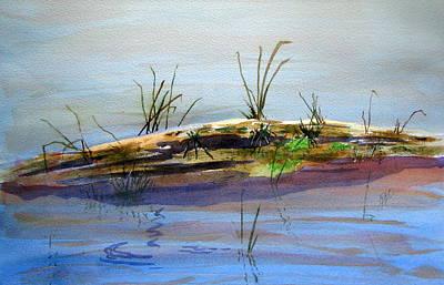 Floating Log Print by Ramona Kraemer-Dobson