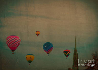 Photograph - floating over L/A by Alana Ranney