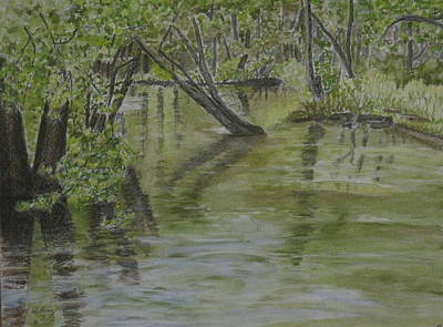 Heather Perez Painting - Flood by Heather Perez