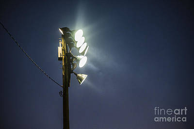 Bright Appearance Photograph - Floodlights by John Greim