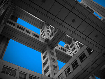 Floors Of Fuji Building Art Print by Naxart Studio