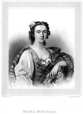 Flora Macdonald Photograph - Flora Macdonald (1722-1790) by Granger