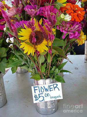 Photograph - Floral Bouquet by David Bearden