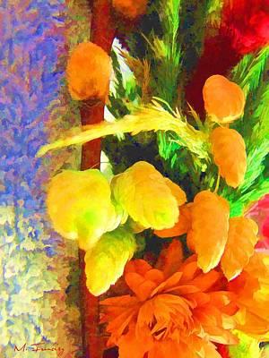 Floral Delights 2095 Art Print by Maciek Froncisz