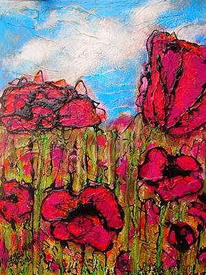 Painting - Floral Fields by Laura  Grisham