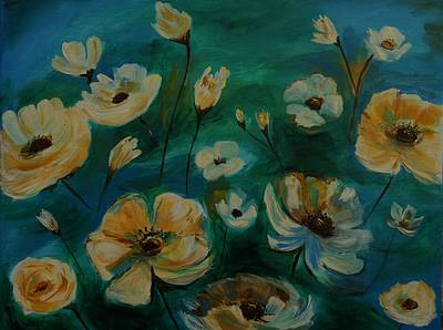 Painting - Floral Finesse II by Leslie Allen