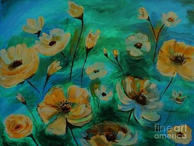 Painting - Floral Finesse IIi by Leslie Allen