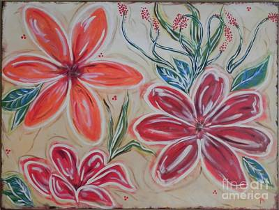 Painting - Floral Frolic by Patti Spires Hamilton