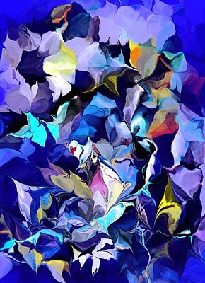 Digital Art - Floral Hallucinations by David Lane