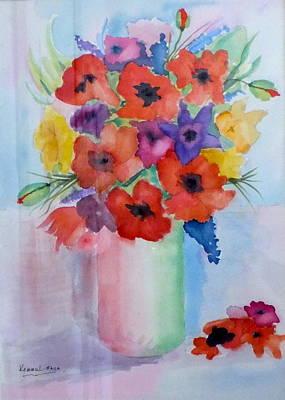 Painting - Floral Jubilation by Harold Kimmel