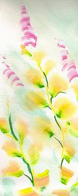Painting - Floral Pattern Painting by Mike Jory