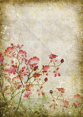 Tears Photograph - Floral Pattern by Setsiri Silapasuwanchai