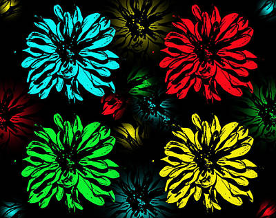 Photograph - Floral Pop Art by Aimee L Maher Photography and Art Visit ALMGallerydotcom