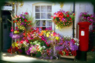 Floral Art Print by Rod Jones