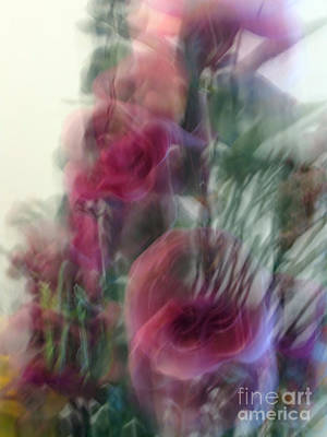 Florals In Motion 2 Art Print by Cedric Hampton