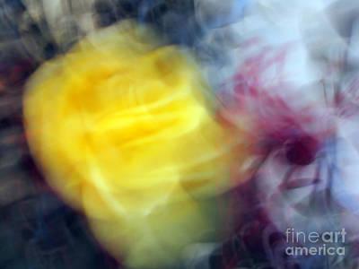 Florals In Motion 3 Art Print by Cedric Hampton