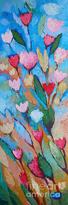 Flower Abstract Painting - Floramaris by Lutz Baar