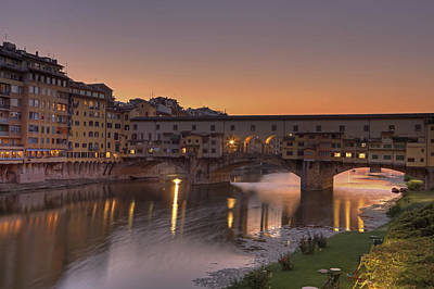 Florence - Ponte Vecchio Art Print by Joana Kruse