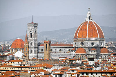 Y120831 Photograph - Florence Cathedral by inFocusDC.com