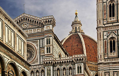 Photograph - Florence Duomo by Steven Sparks