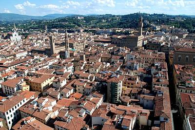Photograph - Florence From Above by Dany Lison