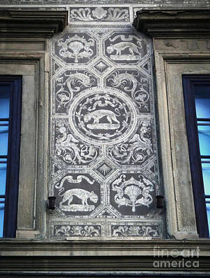 Florence Italy - Architectural Detail - 01 Art Print by Gregory Dyer