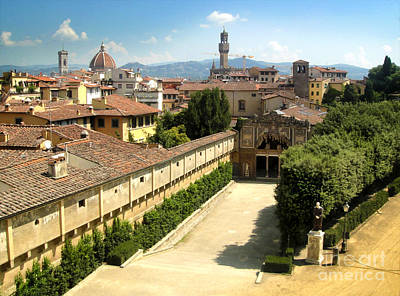 Florence Italy - Pitti Palace - 02 Art Print by Gregory Dyer