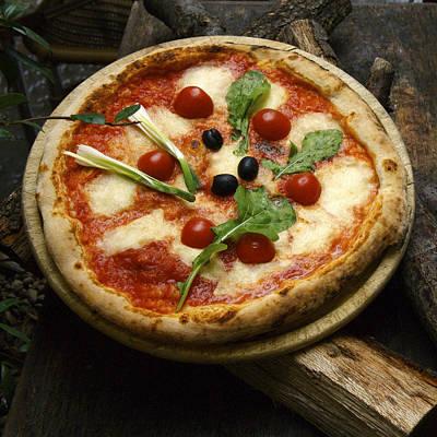 Florence, Italy, Europe-italian Pizza Art Print by Keenpress