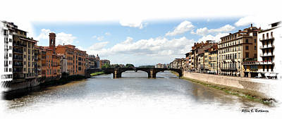 Photograph - Florence Italy Pano by Allan Rothman