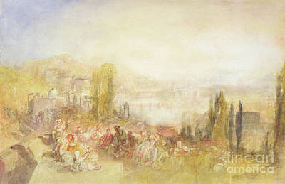 Italian Landscapes Painting - Florence by Joseph Mallord William Turner