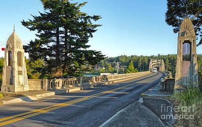Florence Oregon - Art Deco Bridge - 02 Art Print by Gregory Dyer
