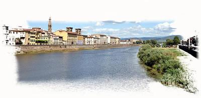Photograph - Florence Panorama by Allan Rothman