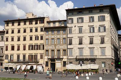 Photograph - Florence Piazza Santa Maria Novella by Matthias Hauser