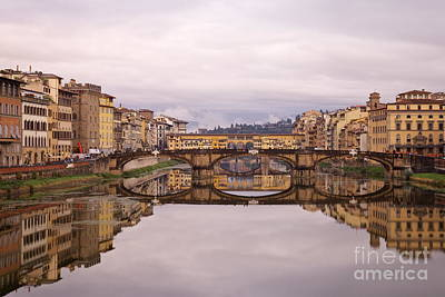 Florence Reflections Art Print