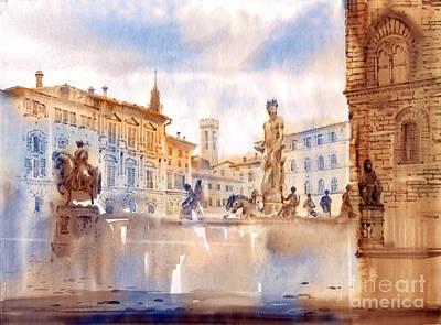 Florence Art Print by Svetlana and Sabir Gadghievs
