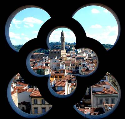 Photograph - Florence Through A Unique Lens by Dany Lison