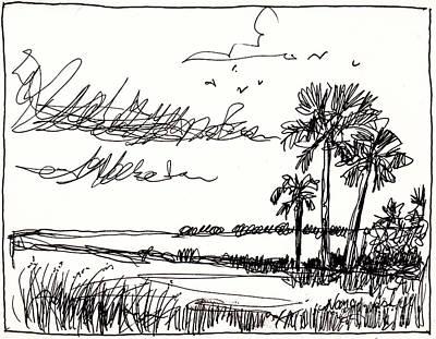 Florida Horizon Art Print by Michele Hollister - for Nancy Asbell