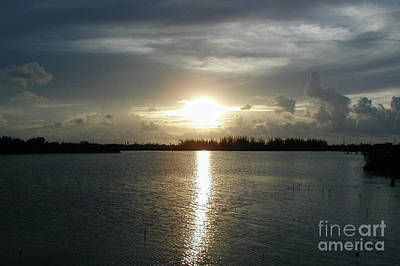 Photograph - Florida Keys Sunset by Michael Waters