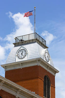 American West - Florida Keys Visitor Center Clock Tower by Ed Gleichman