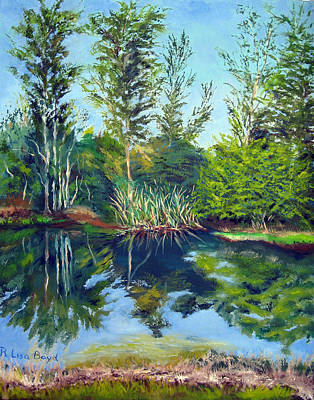 Painting - Florida Landscape by Lisa Boyd