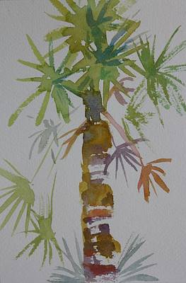 Painting - Florida Palm by Tara Moorman