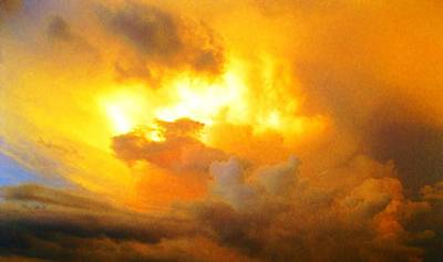 Photograph - Florida Storm Cloud Sunset by Angela Murray