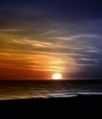 Photograph - Florida Sunset by Ellen Heaverlo