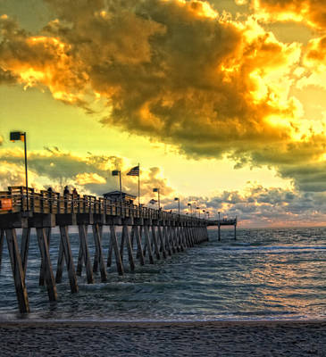 Photograph - Florida Sunset by Gina Cormier